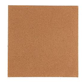Panneau liège imitation mur briques petits cm 100x40x1 s4