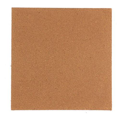 Panneau liège imitation mur briques petits cm 100x40x1 4