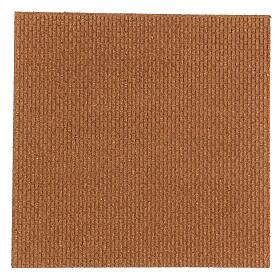 Painel cortiça parede tijolos pequenos 100x40x1 cm s3