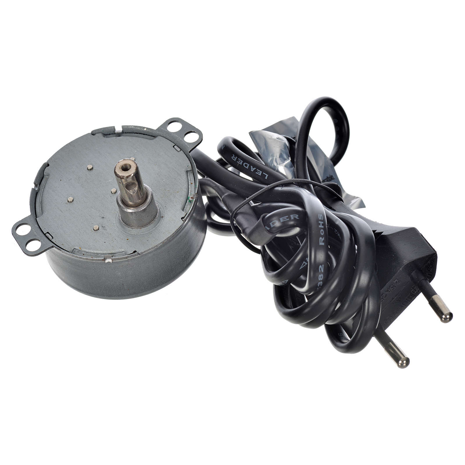 Motor for nativity movements, 4watts, 2spins/minute 4