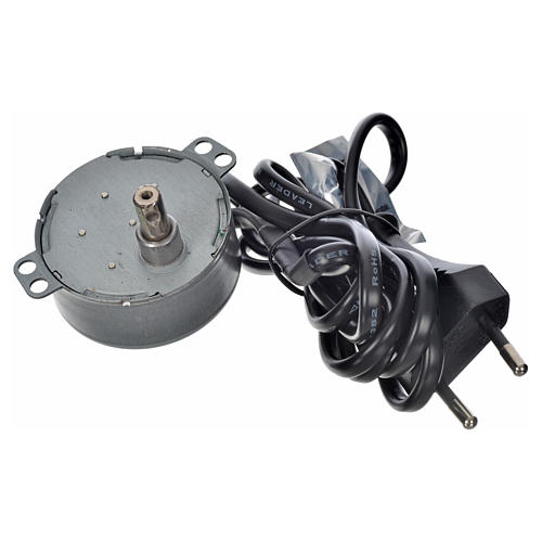 Motor for nativity movements, 4watts, 2spins/minute 2