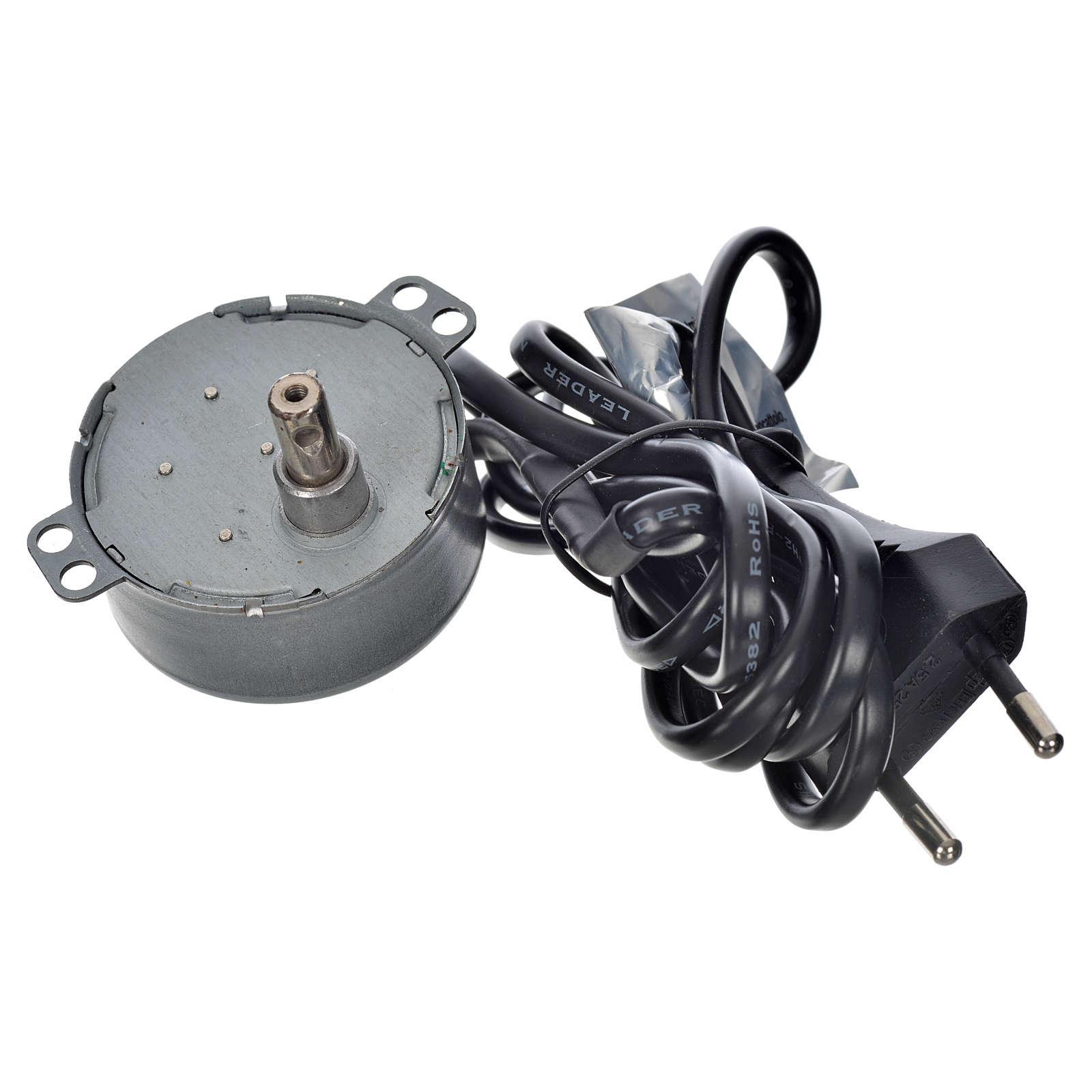 Mini-moteur pour mouvements crèche 4W 2 tours/min 4