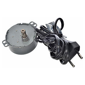 Motor for nativity movements, 4watts, 2spins/minute s2