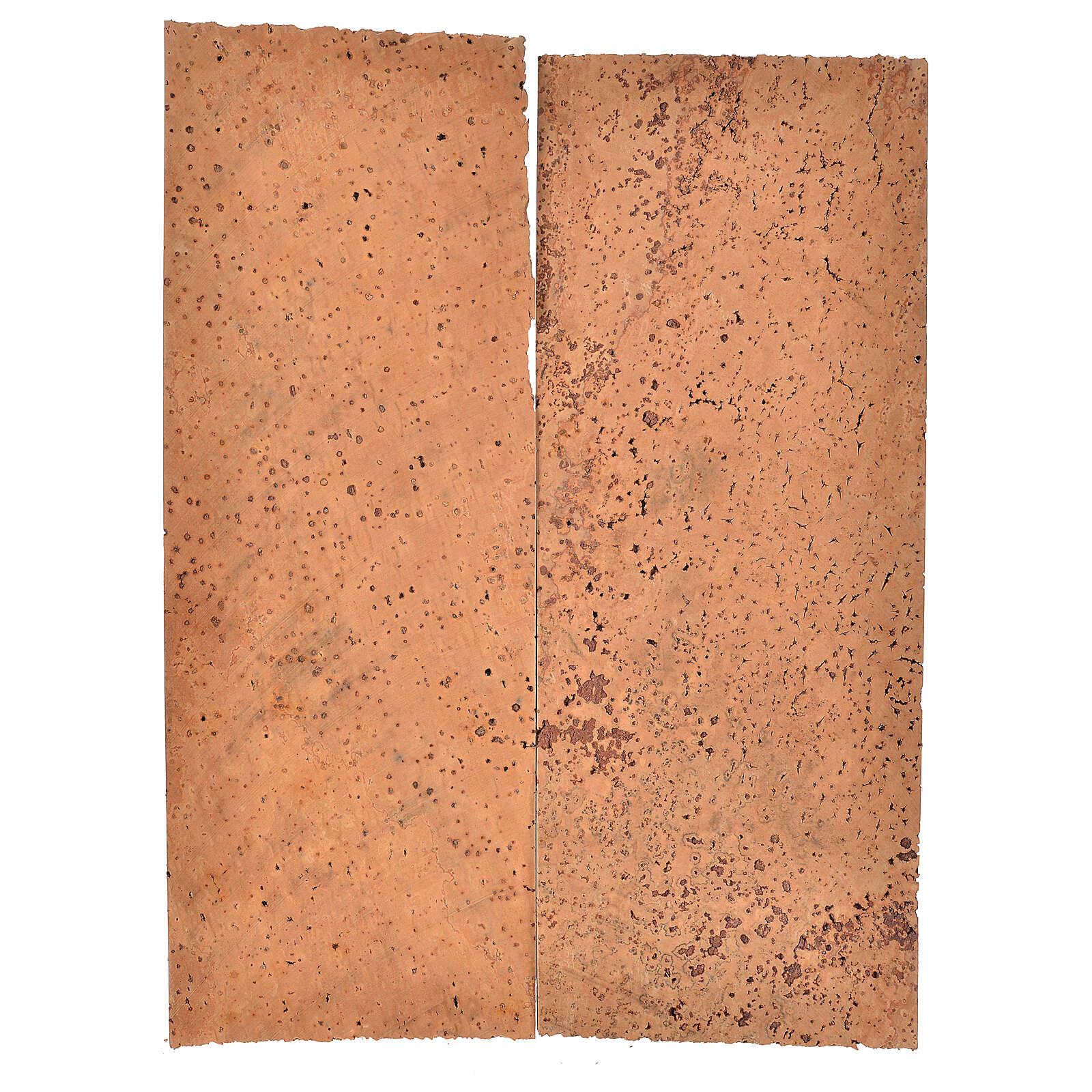 Panneau liège naturel 2 pcs 27x9x0,5 cm 4