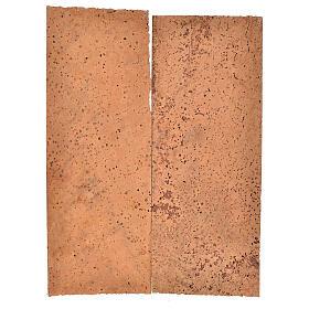 Tavoletta sughero naturale 2 pz cm 27x9x0,5 s1