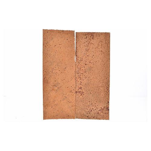 Tavoletta sughero naturale 2 pz cm 27x9x0,5 3