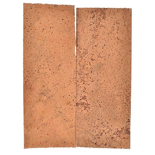 Tavoletta sughero naturale 2 pz cm 27x9x0,5 1