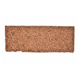 Pannello in sughero roccioso 33x12,5x1 s2