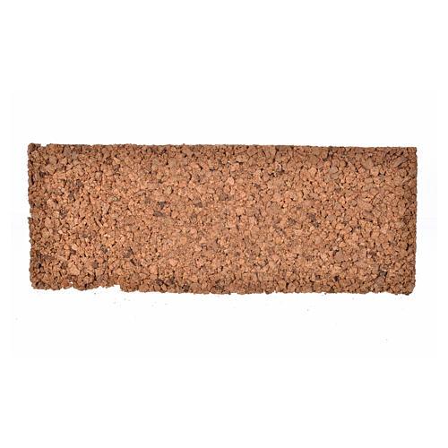 Pannello in sughero roccioso 33x12,5x1 2