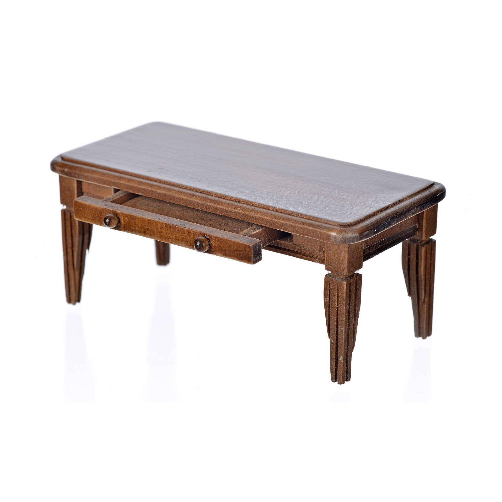 Tavolo in legno cm 10x5x4,5 4