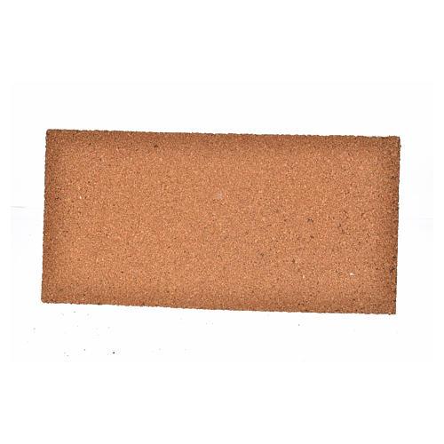 Plancha corcho muro piedra irregular cm. 25x12x1 2