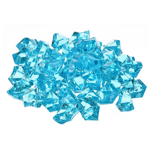 Nativity accessory,  sky blue gems, 150gr 1