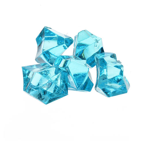 Nativity accessory,  sky blue gems, 150gr 2