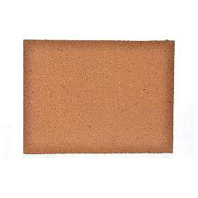 Plancha corcho piedras irregulares cm. 33x24.5x1 s2