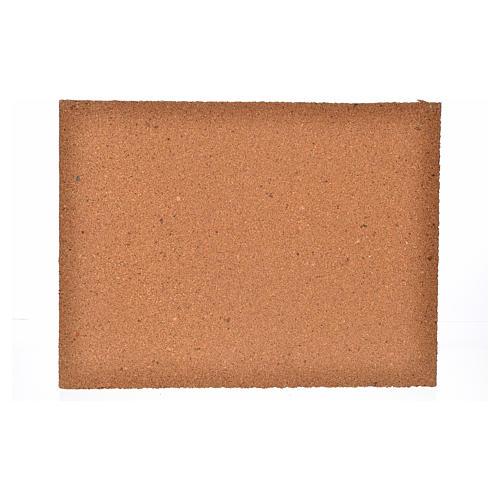 Plancha corcho piedras irregulares cm. 33x24.5x1 2