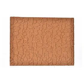 Paisagens, Cenários de Papel e Painéis para Presépio: Painel cortiça pedra irregular 33x24,5x1 cm