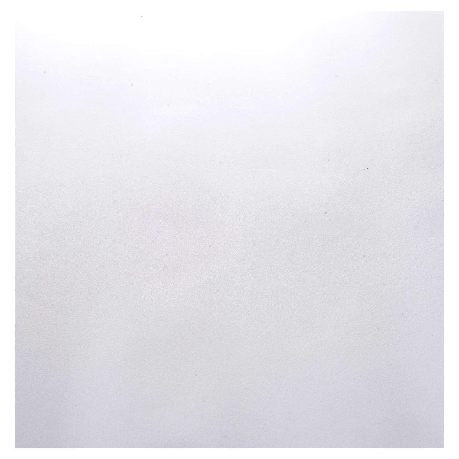 Rotolo carta bianca velluto 70 x 50 cm 4