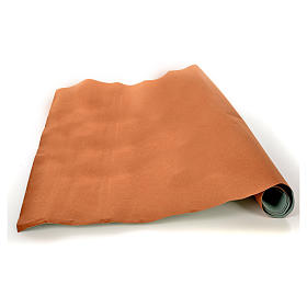 Rollo papel marrón terciopelo cm. 70x50 s1
