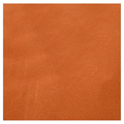 Rollo papel marrón terciopelo cm. 70x50 2