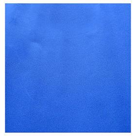 Nativity scene backdrop, roll of velvet blue paper 70 x 50cm s2