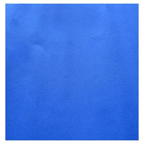 Rollo papel azul terciopelo cm. 70x50 2