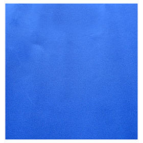 Nativity scene backdrop, roll of velvet blue paper 70 x 50cm s2