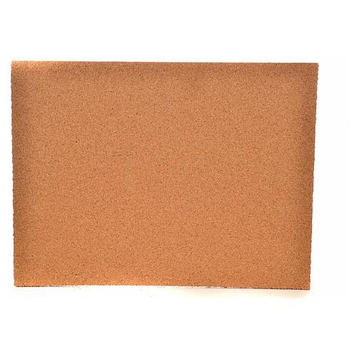 Feuille de liège mur/pavés 33x24,5x1 cm 2