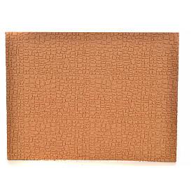 Paisagens, Cenários de Papel e Painéis para Presépio: Painel em cortiça parede/calçada 33x24,5x1 cm