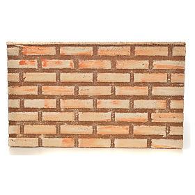 Pannello sughero effetto muro mattoni 33X20X1 s1