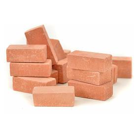 Briques miniatures 20x10 mm 16 pcs s2