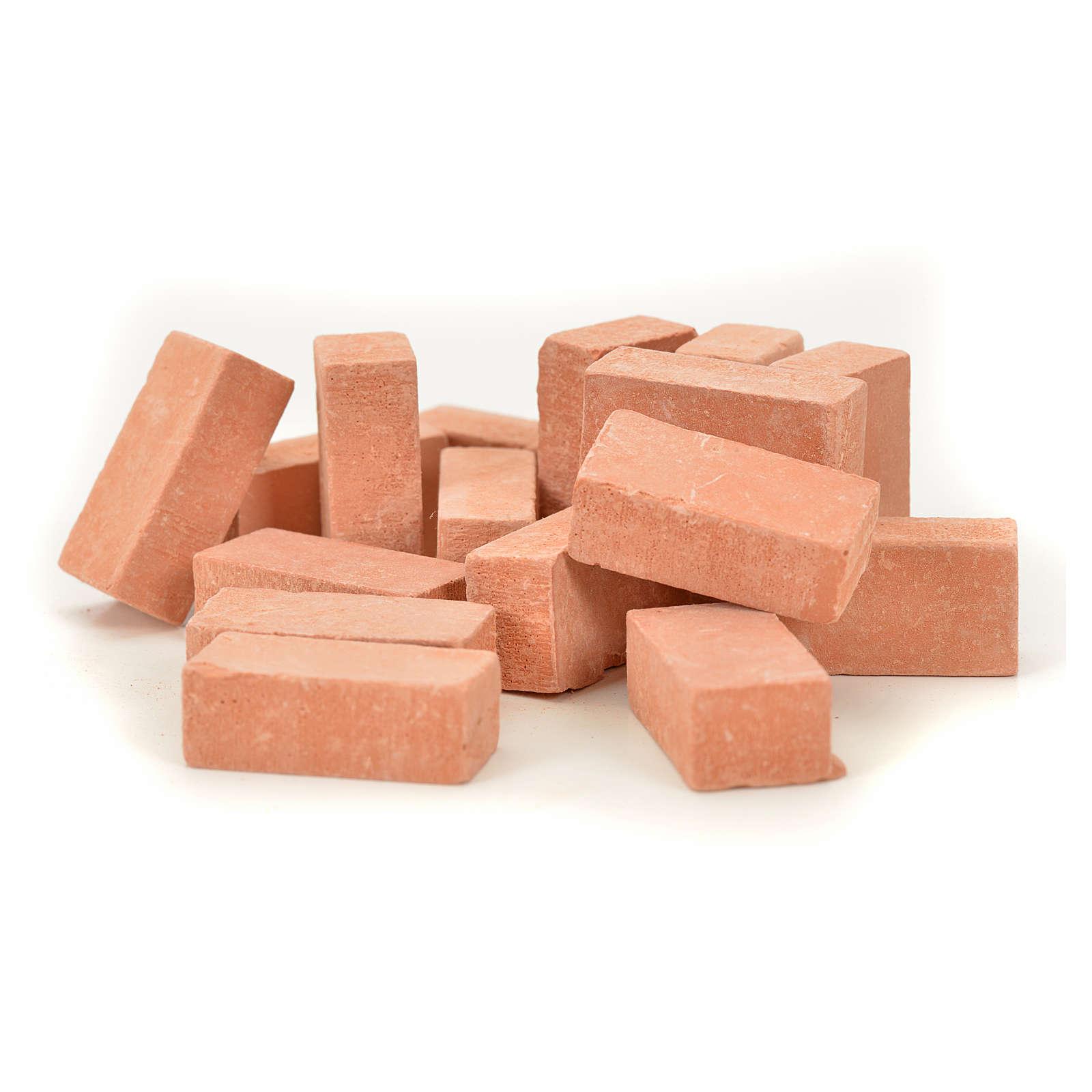 Nativity accessory, resin bricks 20x10mm, 16pcs 4