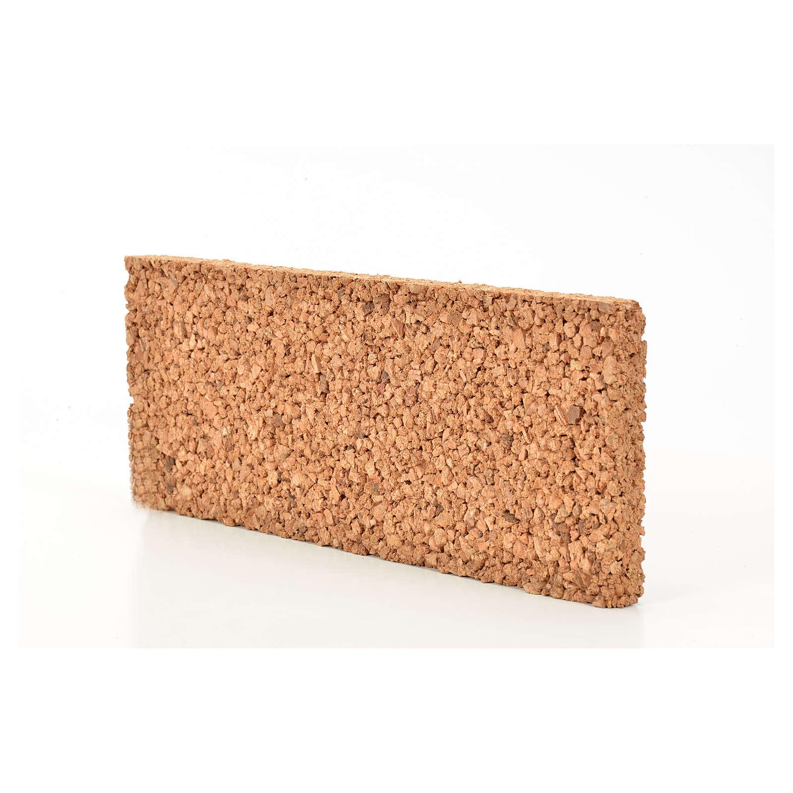 Pannello sughero roccia 33X12,5X2 4