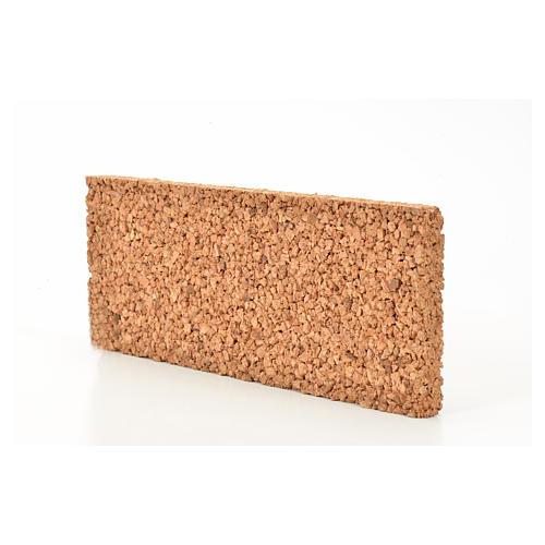 Pannello sughero roccia 33X12,5X2 2