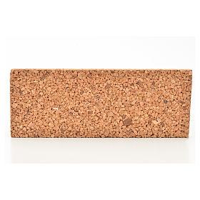 Paisagens, Cenários de Papel e Painéis para Presépio: Painel cortiça rocha 33x12,5x2 cm