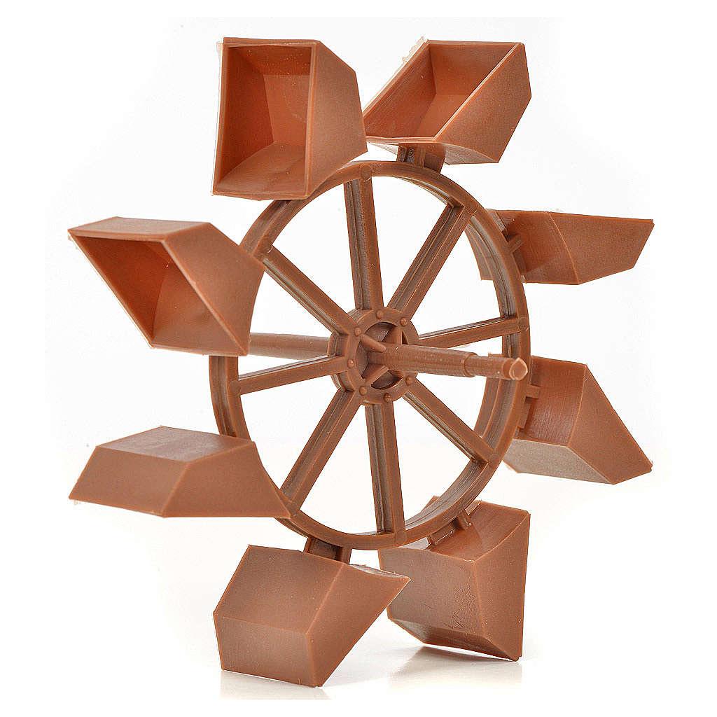 Roda moinho 11 cm diâmetro 4