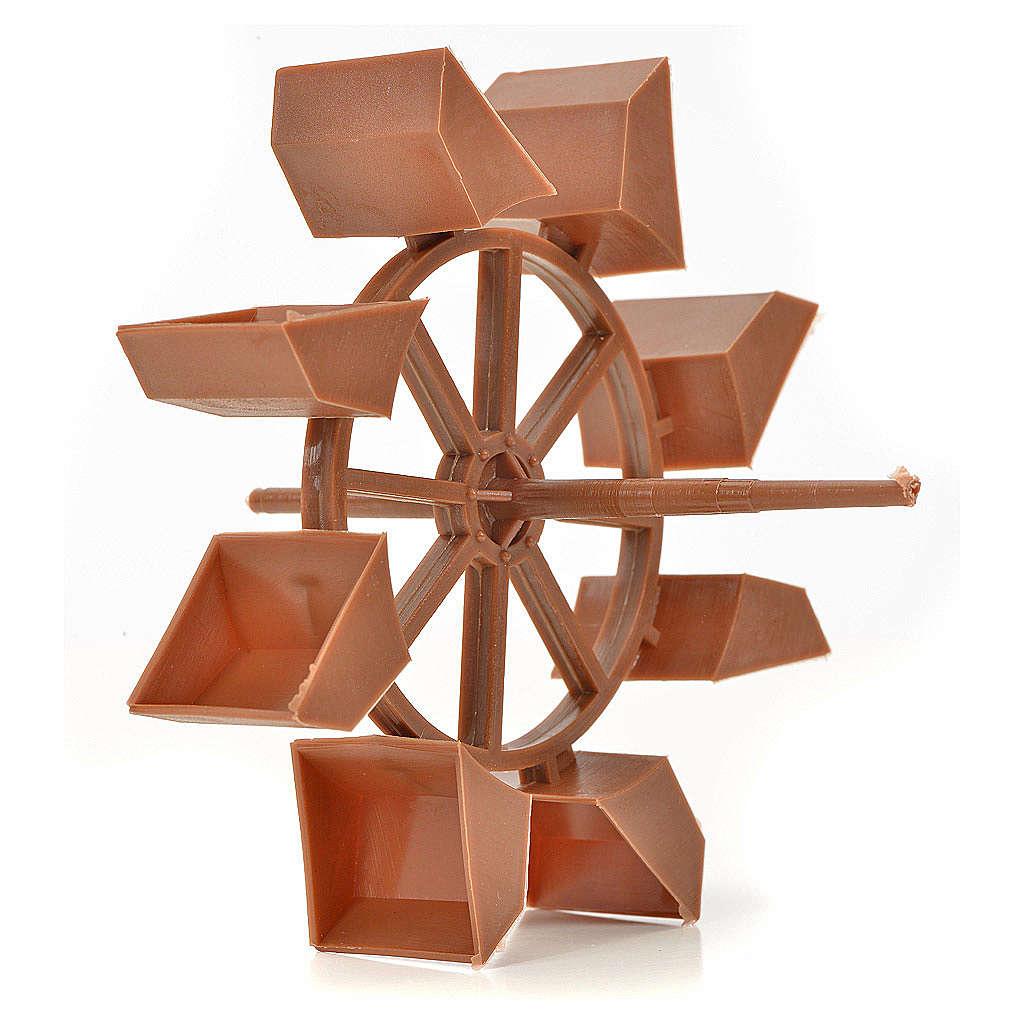 Nativity accessory, mill wheel, 11 cm 4
