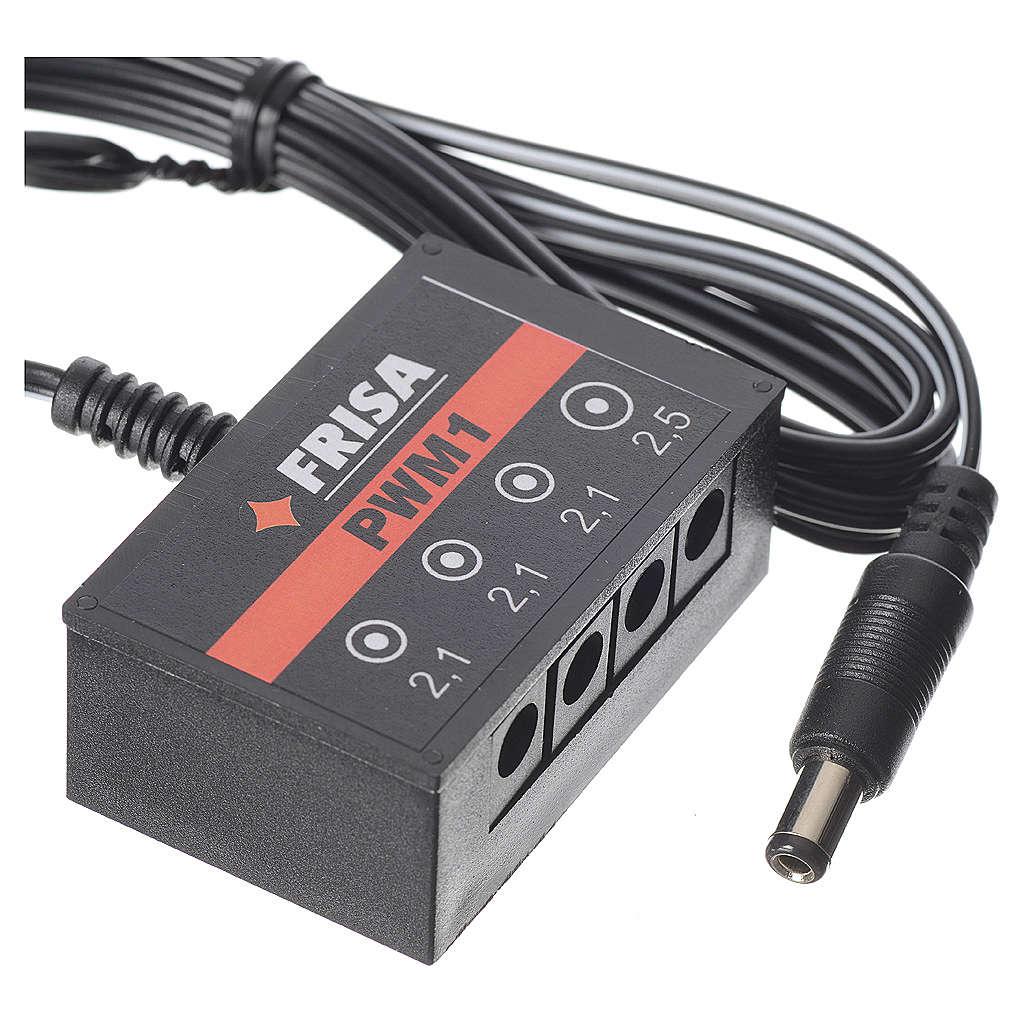 Multiple socket, 1 PS strips+ 3 LED PWM1 for FrialPower 4