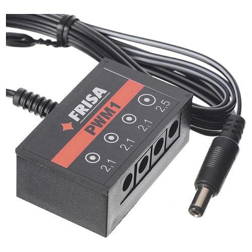 Multiple socket, 1 PS strips+ 3 LED PWM1 for FrialPower 3