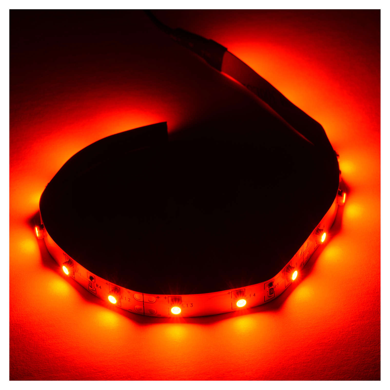 Bande 15 leds 0,8x25 cm Power PS rouge FrialPower 4