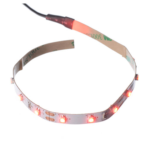 Bande 15 leds 0,8x25 cm Power PS rouge FrialPower 1
