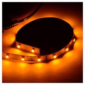 Tira de LED Power 'PS' 15 LED 0.8 x 25 cm. amarillo Frial Power s2