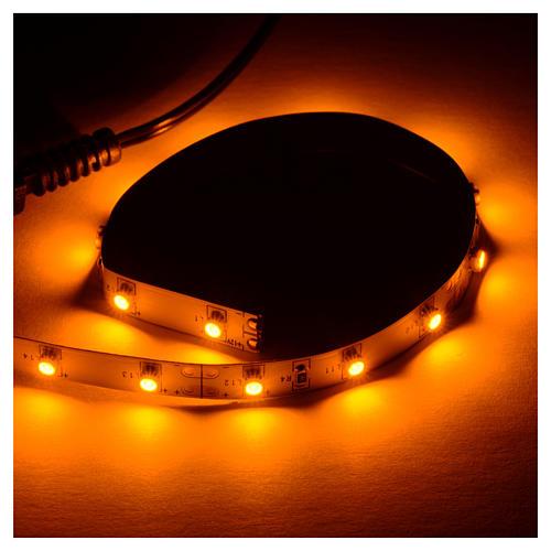 Tira de LED Power 'PS' 15 LED 0.8 x 25 cm. amarillo Frial Power 2