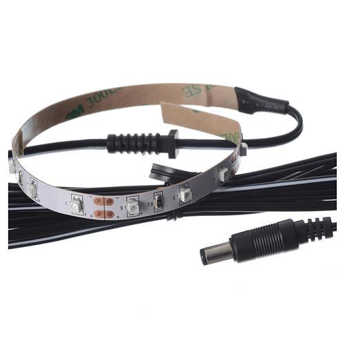 Tira de LED Power 'PS' 15 LED 0.8 x 25 cm. amarillo Frial Power 3
