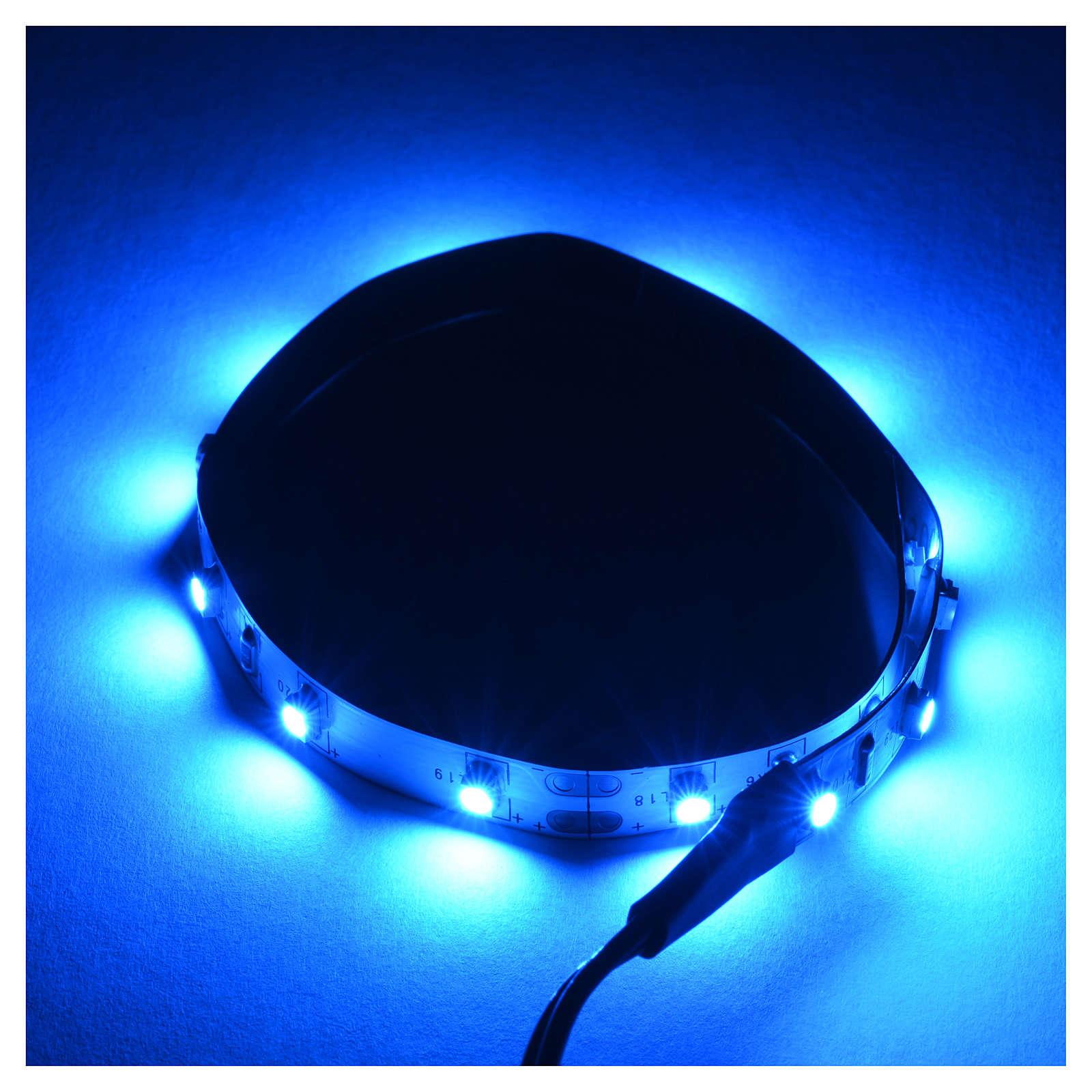 Tira de LED Power 'PS' 15 LED 0.8 x 25 cm. azul Frial Power 4