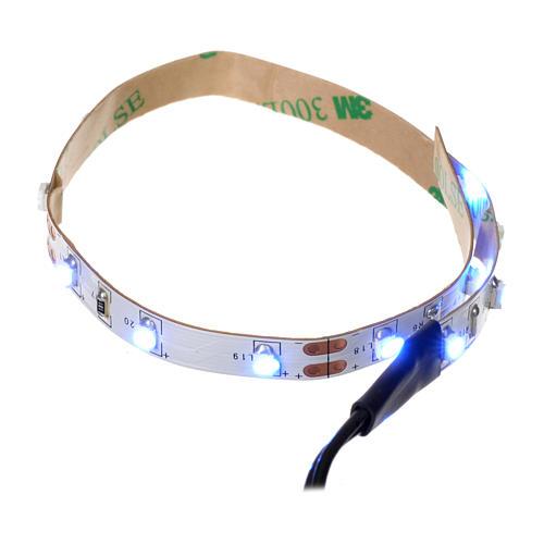 Tira de LED Power 'PS' 15 LED 0.8 x 25 cm. azul Frial Power 1