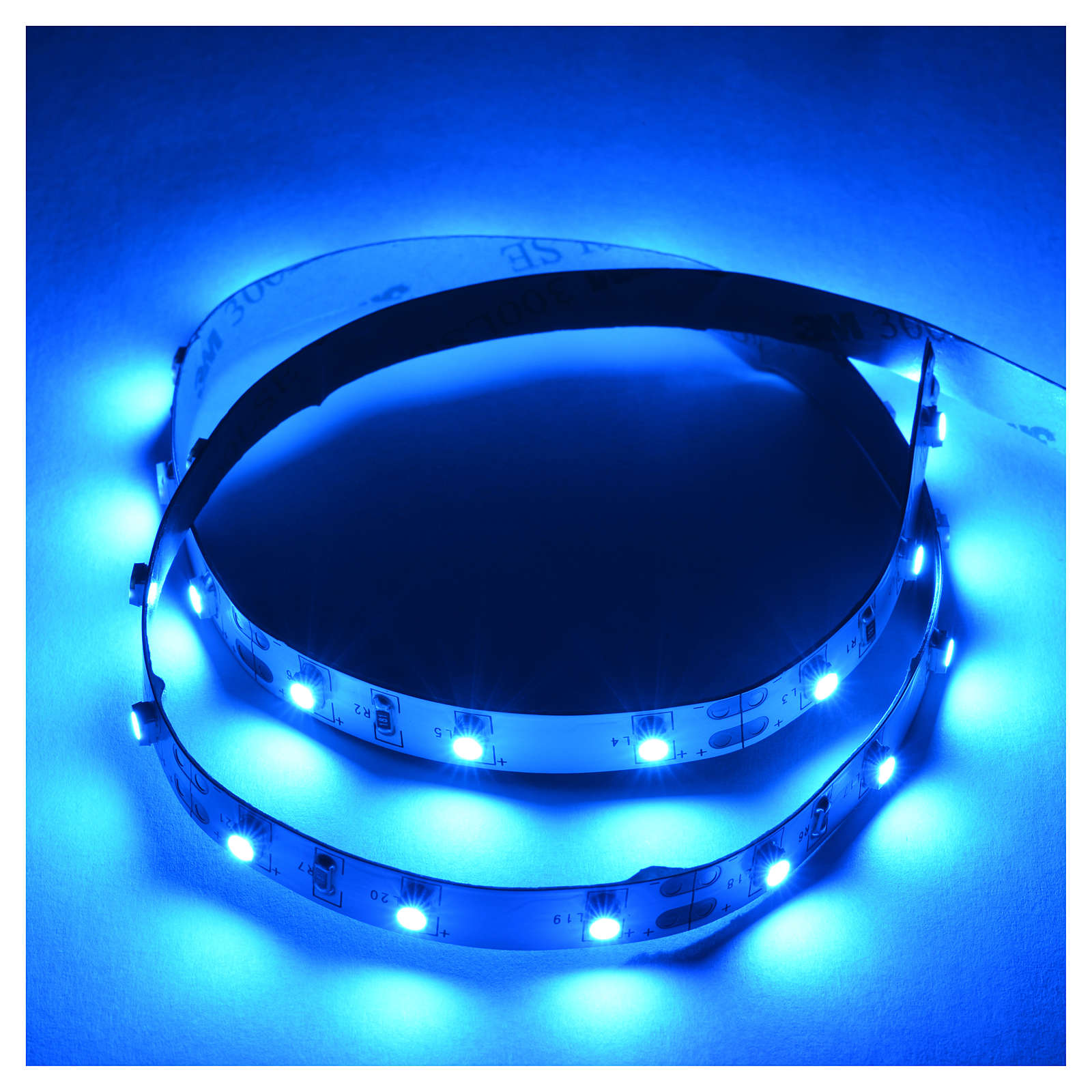 Tira de LED Power 'PS' 30 LED 0.8 x 50 cm. azul Frial Power 4