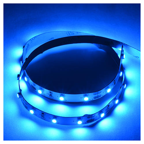 Tira de LED Power 'PS' 30 LED 0.8 x 50 cm. azul Frial Power 2