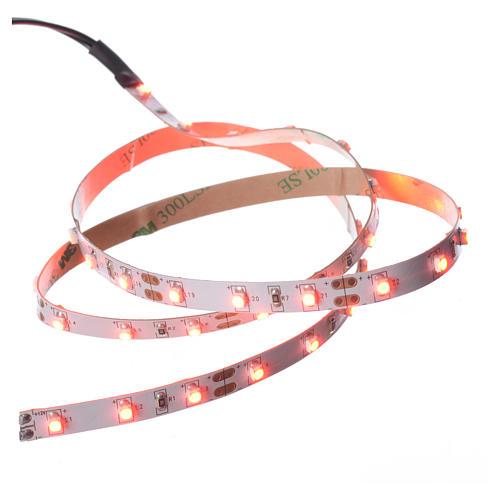 Tira de LED Power 'PS' 45 LED 0.8 x 75 cm. rojo Frial Power 1