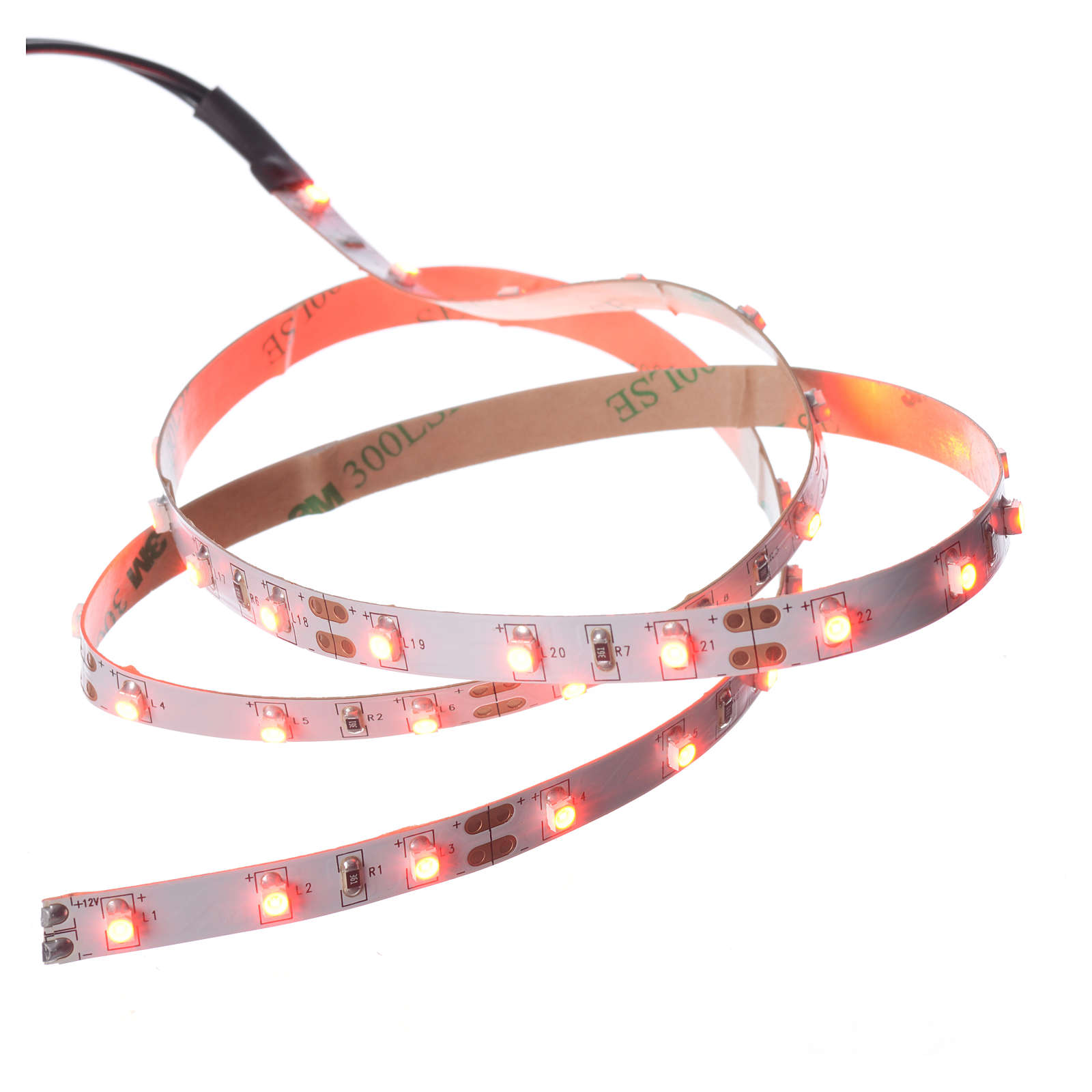 Bande Power 45 leds rouges 0,8x75 cm FrialPower 4