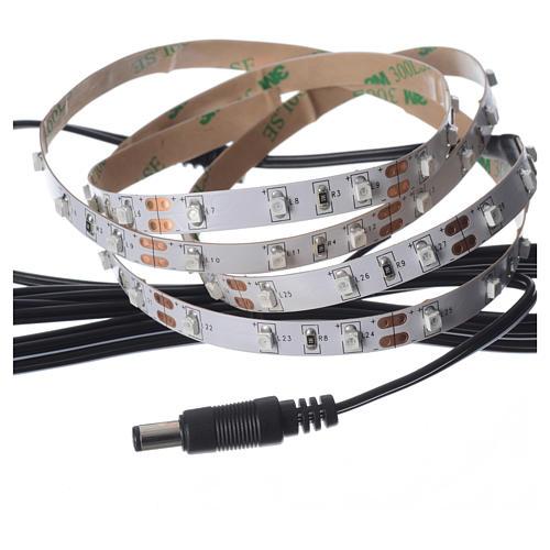 Tira de LED Power 'PS' 60 LED 0.8 x 100 cm. rojo Frial Power 3